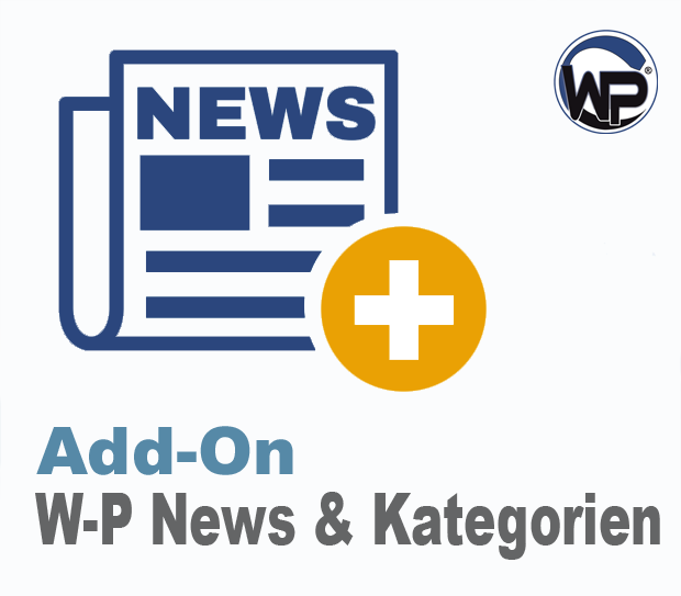 W-P News mit Kategorien - Add-On