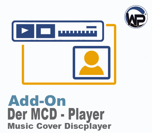W-P Music Cover Discplayer (MCD) - Add-On